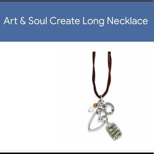Brighton Art & Soul Create Long Necklace